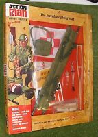 Vintage Action Man 40th Carded/boxed Medic Card