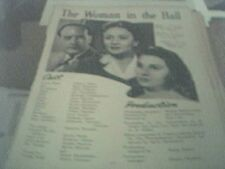 newspaper article 1947 - uncle silas production 2 page