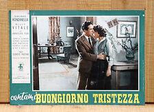 CANTAMI BUONGIORNO TRISTEZZA fotobusta poster Giacomo Rondinella Vitale E31