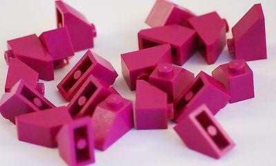 20x Lego® 11477 Dachziegel gebogen 2x1 grün Slope curved green Parts Steine NEW