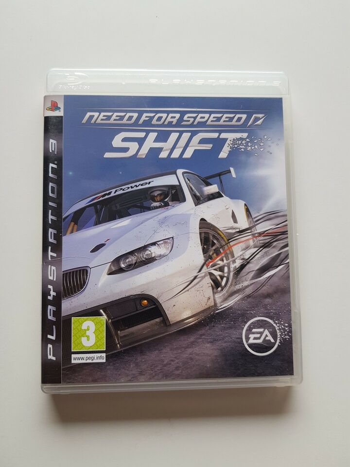 Need for speed, Shift, PS3