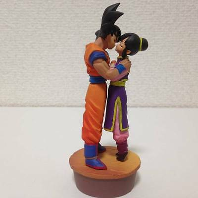 Dragon Ball Z Goku//Gokou /& ChiChi Action Figures DBZ Model Collectible Toy 12CM