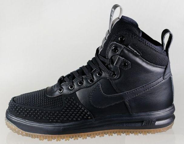 Nike air force 1 grano nero duckboot lunare gum fondo 805899 003 uomini ~ 15