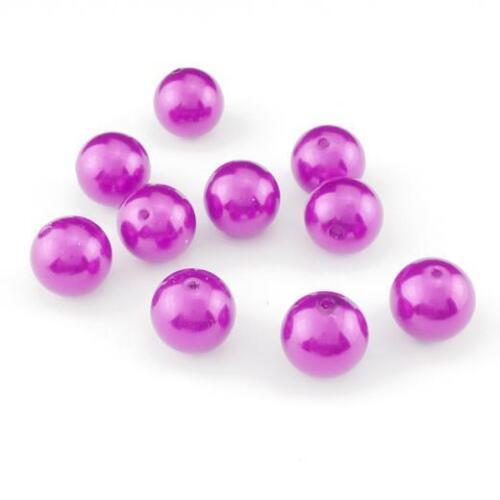 Buddly Crafts 22mm Pearl Beads 10pcs