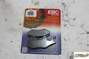 KYMCO  Downtown 200 i 10-15 EBC Carbon Scooter Front Brake Pads SFAC142