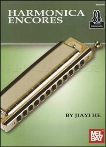 Harmonica-Encores-Chromatic-Music-Book-Audio-Classical-Bach-Vivaldi-Jiayi-He