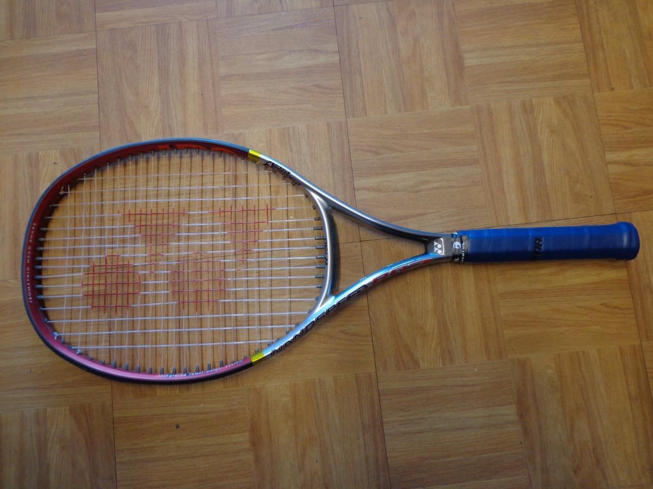 YONEX nanospeed RQ 7 110 headTaille 4 5 8 grip raquette de tennis
