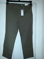 $75 Chico's Ultimate Fit Cropped Getaway 5-pocket-pants-brown Size 1