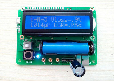 new M328 version inductor-capacitor ESR table multifunction teste