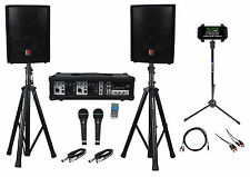 "Rockville Dual 10"" Android/iphone/ipad/Laptop/TV Youtube Karaoke Machine/System"