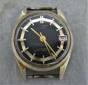 Morrison Armbanduhr,Handaufzug,mechanisch,Datumsanzeige,ohne Band,Bastleruhr,