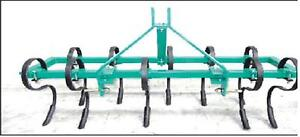 5-Ft-3-Point-Farm-Tractor-034-S-034-Tine-Cultivator-Tiller-Hoe-H-Duty-Part-No-FISC5HD