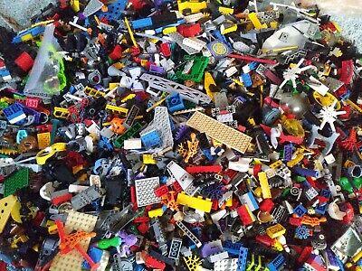Loose Bulk Lego Mixed Building Block Parts Random Colors Grab Bag-Choose Weight