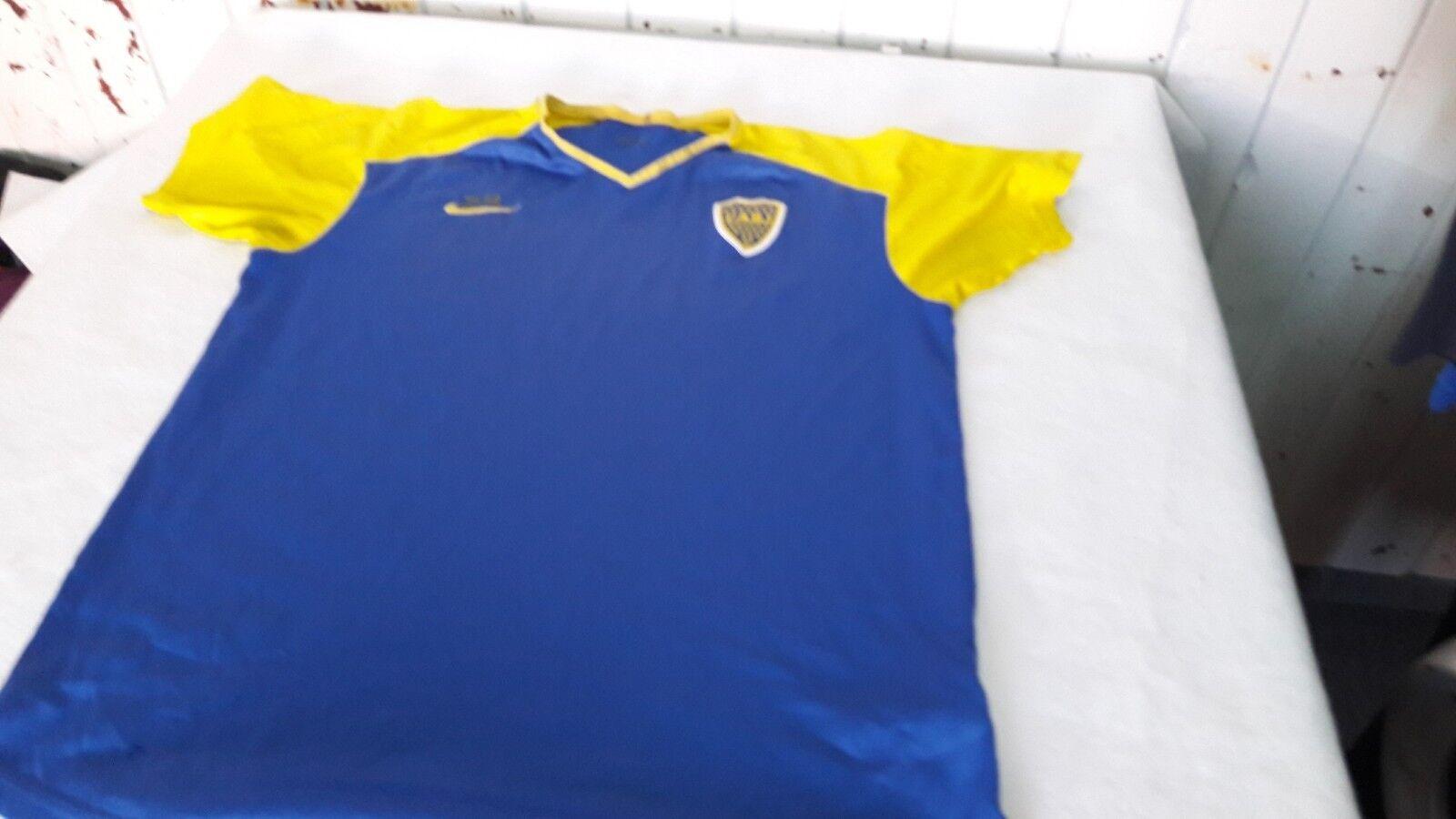 Old Boca Jr Formación Camiseta De Fútbol Original Nike del club, con número 24