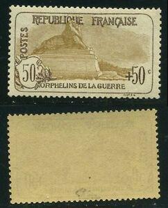 FRANCE-STAMP-TIMBRE-153-034-ORPHELINS-50c-50c-LION-DE-BELFORT-034-NEUF-xx-TTB-SIGNE