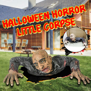 Halloween-Props-Decorations-Horror-Special-Zombie-Room-Crawling-House-Ground