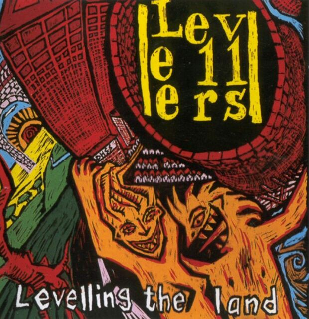 THE LEVELLERS levelling the land (CD album) indie rock