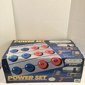 Nintendo NES Power Set Complete Console, Original Box, Styrofoam, Power Pad