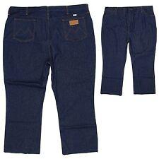 Maverick Mens Jeans 48x28 (Tag 48x32) Regular Fit Dark Blue with Short Inseam