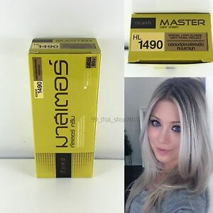 DCASH-Special-Light-Blonde-Grey-Pearl-Reflect-HL1490-Permanent-Hair-Dye-Color