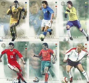 FUTERA-UNIQUE-2004-NEW-WORLD-FOOTBALL-CARDS-PICK-UR-PLAYERS-amp-ROOKIES