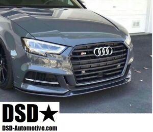 2017-MT-style-CHARBON-AVANT-piece-levre-Spoiler-Aileron-pour-Audi-A3-S-LINE-S3