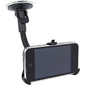 Windscreen-Suction-Mounted-Car-Holder-with-Gooseneck-amp-Cradle-for-iPhone-3G-3GS