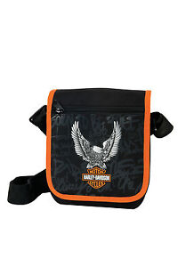 exclusiv harley davidson schultertasche umh ngetasche. Black Bedroom Furniture Sets. Home Design Ideas