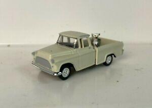 Woodland Scenics 1/87 HO 1950s Chevy Pickup With Dog No Box (TZ819)