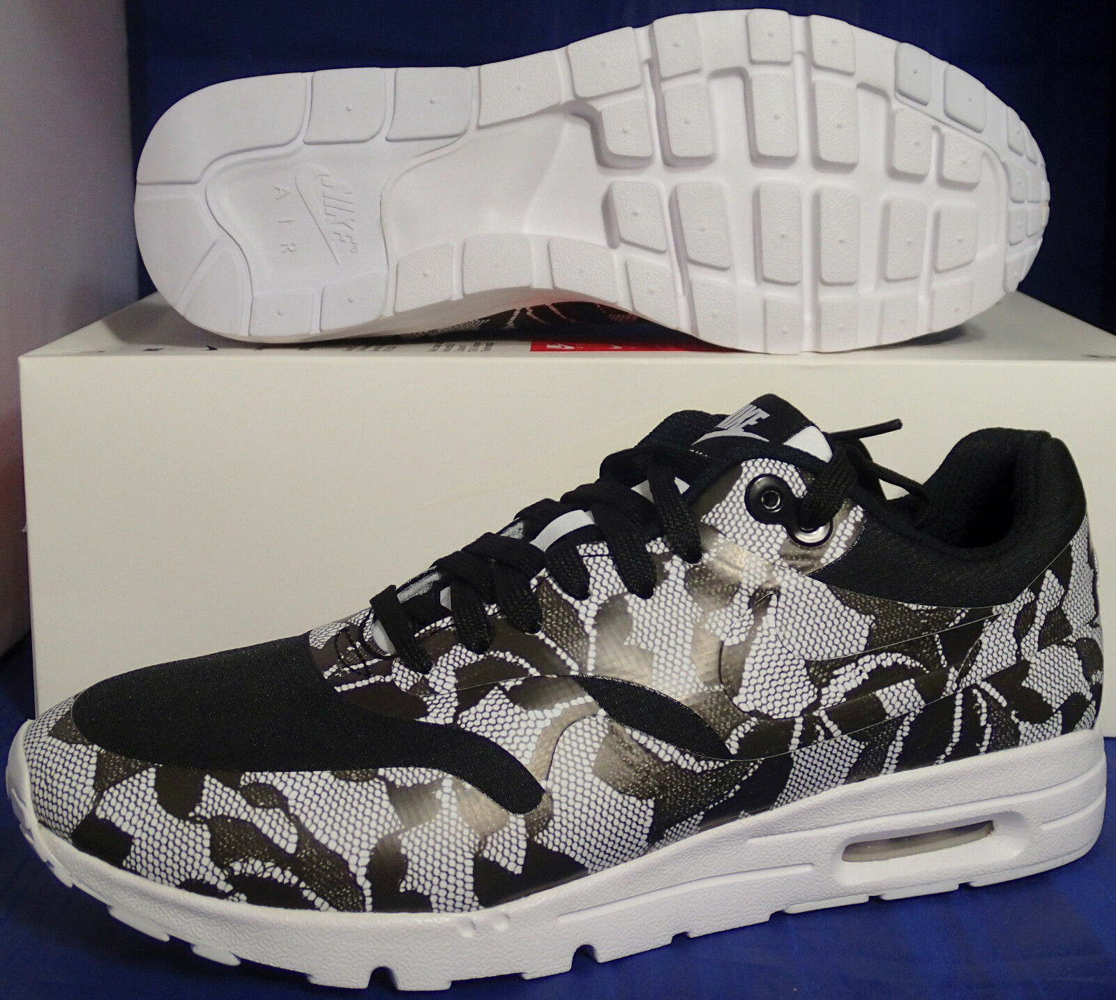 Womens Nike Air Max 1 Ultra SP Black White SZ 9.5 ( 789564-001 )