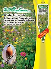 Winterfutter f heimische Singvögel, Sommerblumen Blumenmischung Wildblumen 50175