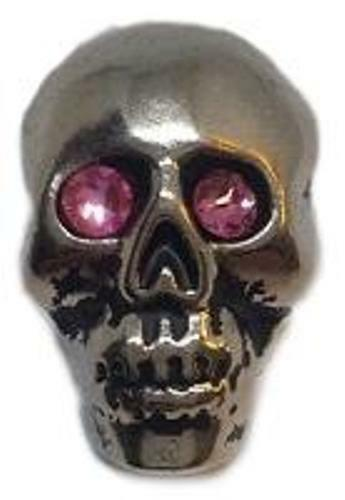 "Skull 1/"" X 3//4/"" Decorative Screw Back"