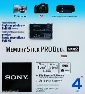 Sony-Memory-Stick-Pro-Duo-4GB-Speicherkarte-Memory-Stick-4GB-MS-Pro-Duo-NEU-amp-OVP