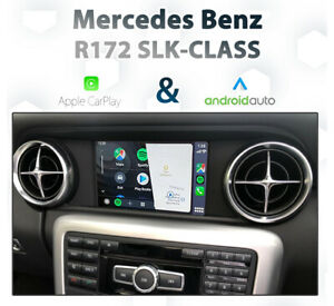 Mercedes-Benz-R172-SLK-Class-2012-15-Touch-Apple-CarPlay-amp-Android-Auto