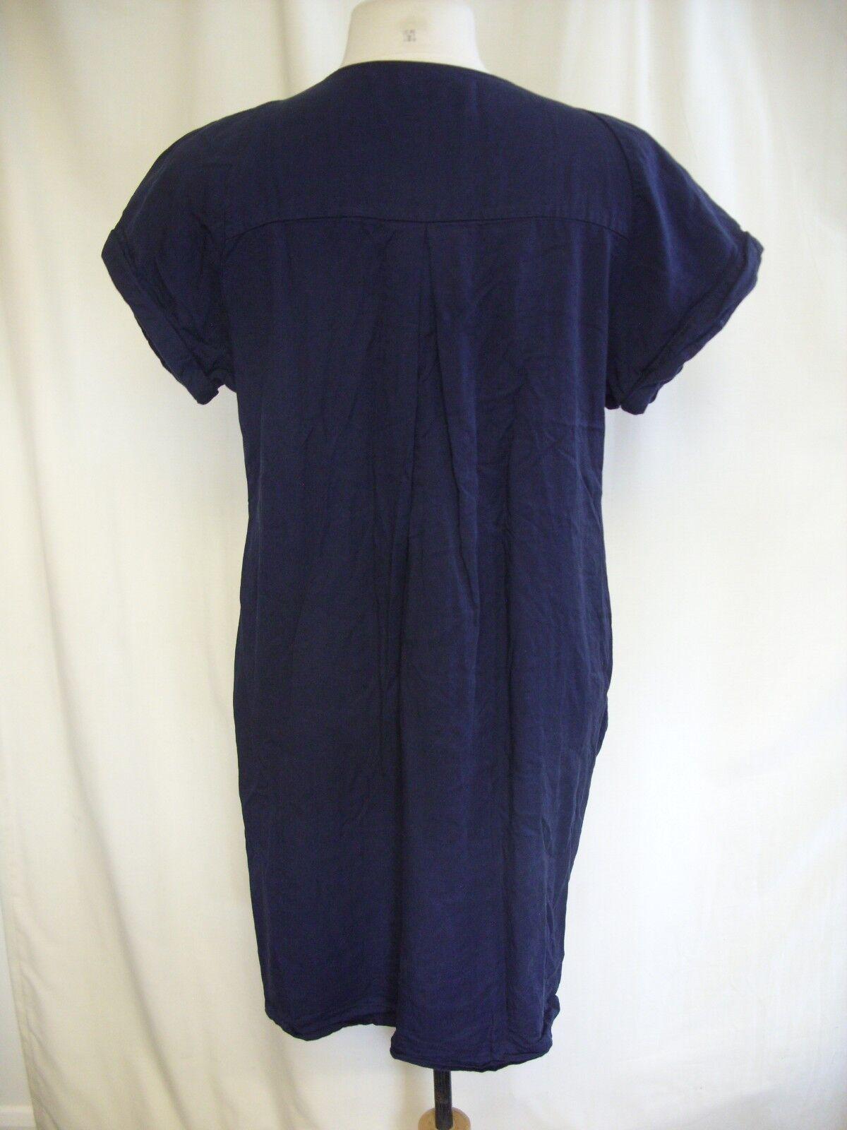 Vestito donna Whistles blu navy stile di di di Smock, EU 40 US 8, casual 0467 7ef4f5