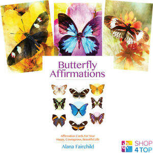 Butterfly-Affirmations-Deck-Cards-Alana-Fairchild-Geheimlehre-Blue-Angel-New