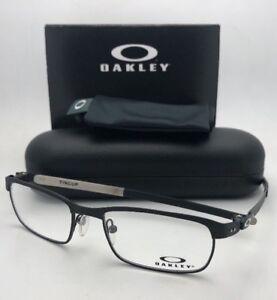3cd12a9201 New OAKLEY Titanium Eyeglasses TINCUP OX3184-0152 52-17 Powder Coal ...