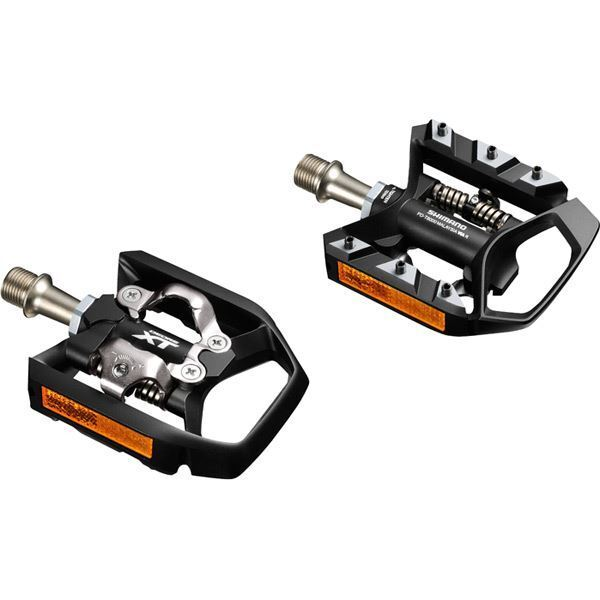 Shimano PD-T8000 XT MTB SPD Trekking pedals, single-sided mechanism