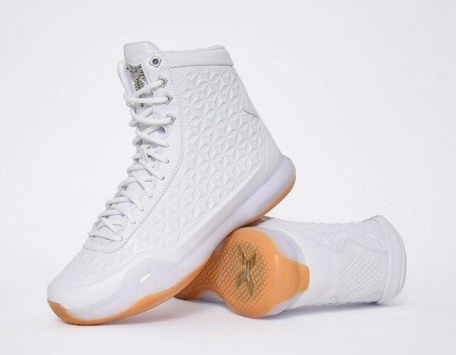 Nike Kobe X Elite EXT QS 9.5 Triple White Gum Boot Air Force 1 AS Constellation
