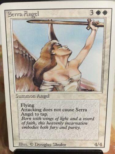 Magic The Gathering 1x Serra Angel ~ REVISED ~  M//NM.