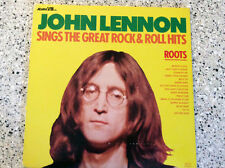 "SUPER RARE JOHN LENNON ""SINGS THE GREAT ROCK & ROLL HITS ROOTS"" LP"