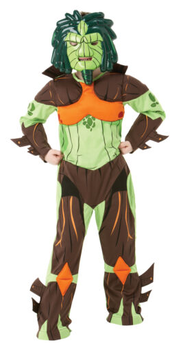 FANCY DRESS COSTUME ~ DELUXE GORMITI LUCAS LORD OF THE FOREST MEDIUM AGE 5-6