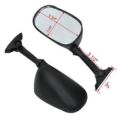 Pair Rear View Mirror For Suzuki GSF1250S GSX1250 BANDIT 2007-2009 SV1000S 03-06