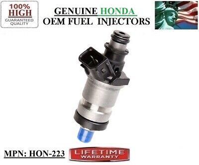 6x OEM Honda//Keihin Fuel Injectors for 1986-1991 Honda 1.6 1.8 2.0 2.1 2.7 B20A5