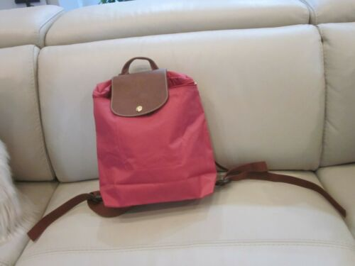 LONGCHAMP Nylon Backpack Hot Pink