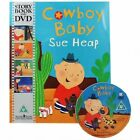 Sue Heap Cowboy Baby Winner Book Prize Gold Award Under 5's PB With DVD