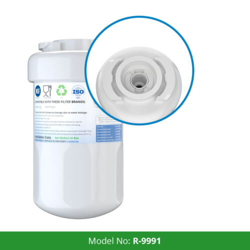 Fits GE GSHF3KGZBCBB Refrigerators Refresh Replacement Water Filter 2 Pack