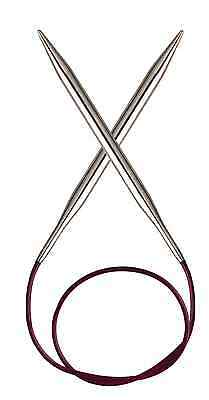 KnitPro KP103[01-06/51-60]   Nova Metal Fixed Circular Knitting Needle 40cm