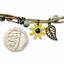 miniature 4 - Bracelet Flower Daisy Beads Girls Ceramic Charm Jewellery Silver Ankle Girls