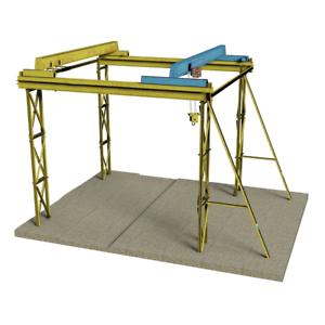 Bachmann 44-0111 OO Gauge Steel Frame Crane
